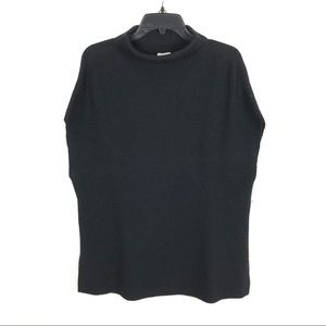 VINCE CASHMERE & WOOL BLEND SWEATER PONCHO (Large)